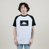 Kappa Authentic Baria Tee (White/Black)