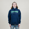 Thrasher Outlined Hoodie (Navy)