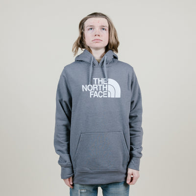The North Face Half Dome Slim Hoodie (Grey/White)