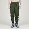 Champion C Logo Track Pant (Hiker Green/Black)