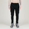 Kappa Banda Agrif Slim Fleece Track Pant (Black/White)