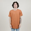 EPTM Side Zipper OG Long Tee (Vintage Rust)
