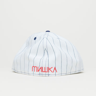 Mishka Keep Watch New Era (Navy Pinstripe)