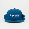 Supreme x New Era Polartec® Ear Flap (Blue)