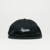 Supreme Side Pocket Script Logo 6 Panel (Black)