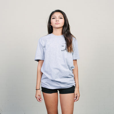 NewYakCity Clint Tee (Heather Grey)