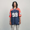 Vintage No Limit Jersey (Navy/Orange)