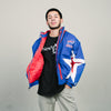 Vintage Bills Starter Jacket (Blue/White/Red)