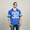 Vintage Logo Athletic Seahawks Watters Jersey (Blue)