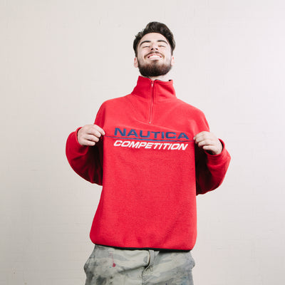 Vintage Nautica Competition Fleece (Red)