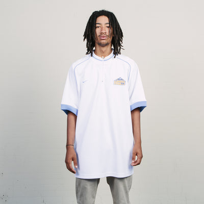 Vintage Nike Nuggets Jersey (White/Blue)