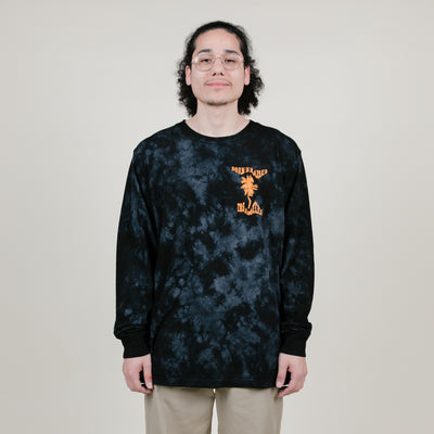 Born X Raised Warped Boardwalk L/S Tee (Black)