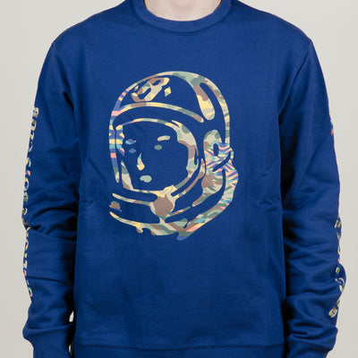 Billionaire Boys Club Camo Helmet Crew (Blueprint)
