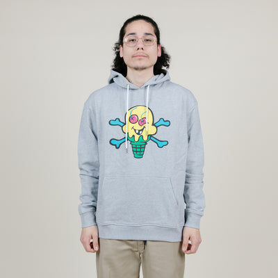 Icecream Lemonade Hoodie (Heather Grey)