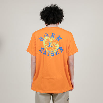 Born X Raised Fuck The World Tee (Orange)