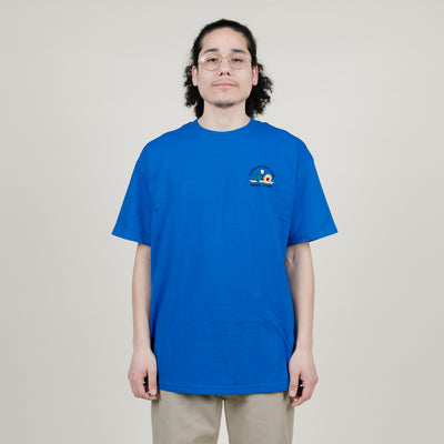 Pass-Port Dinner For One Tee (Royal Blue)