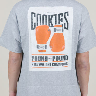 Cookies SF Pound For Pound Tee (Heather Grey)