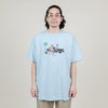 Butter Goods Cigar Tee (Powder Blue)