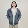 Dickies Sherpa Lined Fleece Hoodie (Dark Heather Grey)