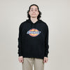 Dickies Relaxed Fit Fleece Hoodie (Black)
