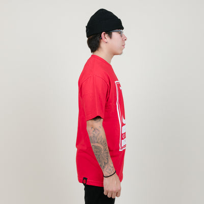 Cookies SF Alumni Hall Logo Tee (Red)