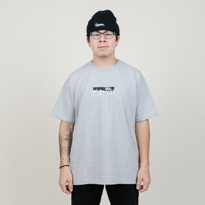 NewJackCity Box Logo (Heather Grey)