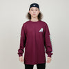 Alltimers Artists L/S Tee	(Burgundy)