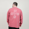 NewYakCity NYC Plus L/S Tee (Crimson)