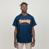 Thrasher Flame Tee (Navy)