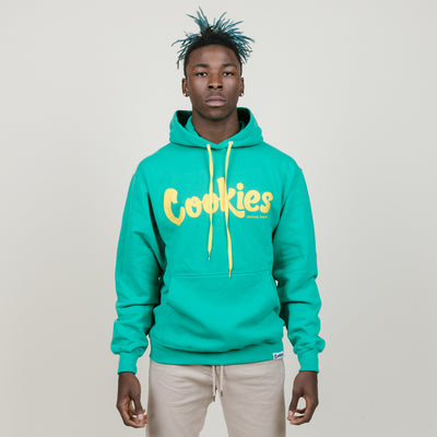 Cookies SF Thin Mint Hoodie Fleece (Green/Yellow)