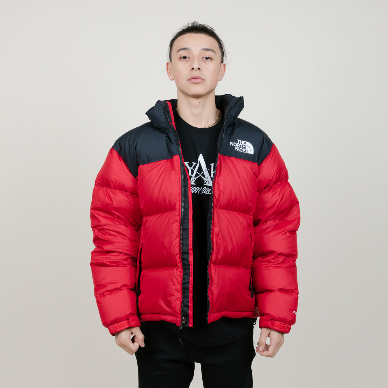 5f7578b140 The North Face Men's 1996 Retro Nuptse Jacket (Red/Black) - NewYakCity