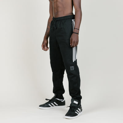 Adidas Classic Windbreaker Pants (Black/White)