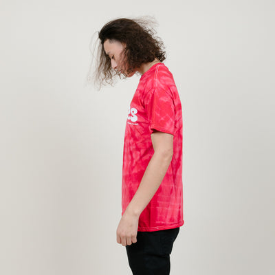 Cookies SF Thin Mint Spider Tie-Dye Tee (Red)