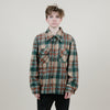 Vintage Sear Jacket Plaid (Green/Rust)