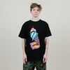 Icecream Cone Head Tee (Black)