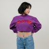 Champion Vintage Wash Cut RW Crewneck (Venetian Purple)