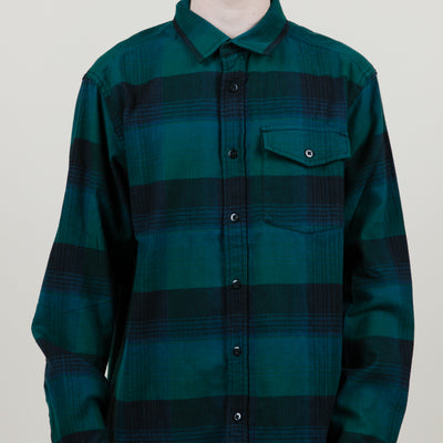 The North Face Stayside Cham Flannel (Night Green)