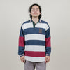 Vintage Tommy Spellout (Blue/White Stripe)