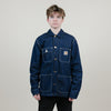 Vintage Carhartt WIP Denim Jacket (Dark Blue)