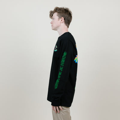 Born X Raised Heat Seeker L/S Tee (Black)