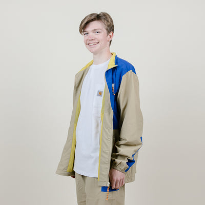 Butter Goods Search Jacket (Kaki/Royal)