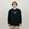 Carrots Wordmark Crewneck (Black)