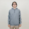 Carhartt WIP Hooded Chase Sweatshirt (Dark Grey Heather/Gold)