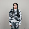 Stussy Zebra Mohair Sweater (Natural)