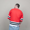 Vintage Starter Blackhawks Jersey (Red/White/Black)