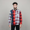 Stussy Mixed Tartan L/S Shirt (Multi Colored)