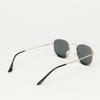 PalmSpringsWA Nob Hill Polarized Grey Lens (Gold)
