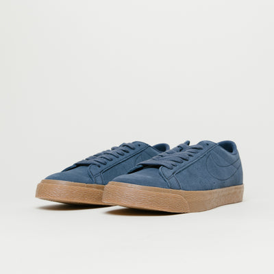 Nike SB Zoom Blazer Low (Thunder Blue/Gum)