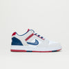 Nike SB Air Force II Low (White/Blue Void-Red Crush)