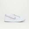 Nike SB Zoom Dunk Low Pro IW (White/Perfect Pink-Flat Silver)